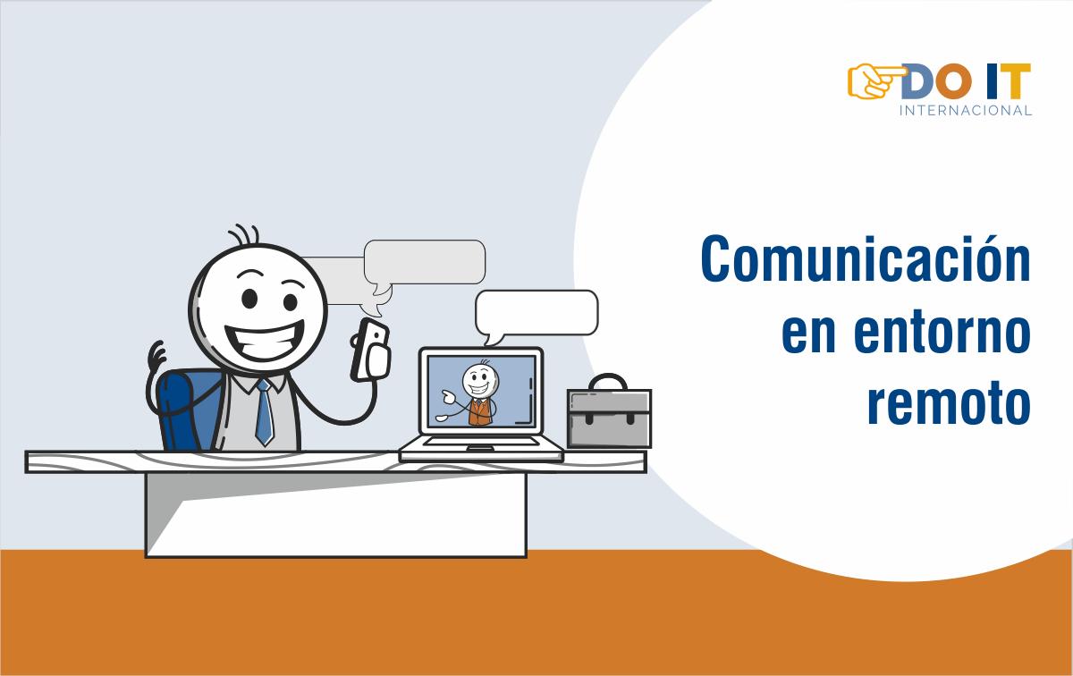 Comunicación en entorno remoto